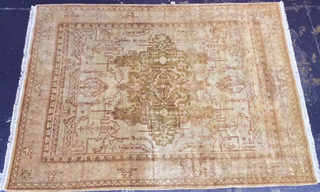 Traditional 9 x 12 Beige Rug #491