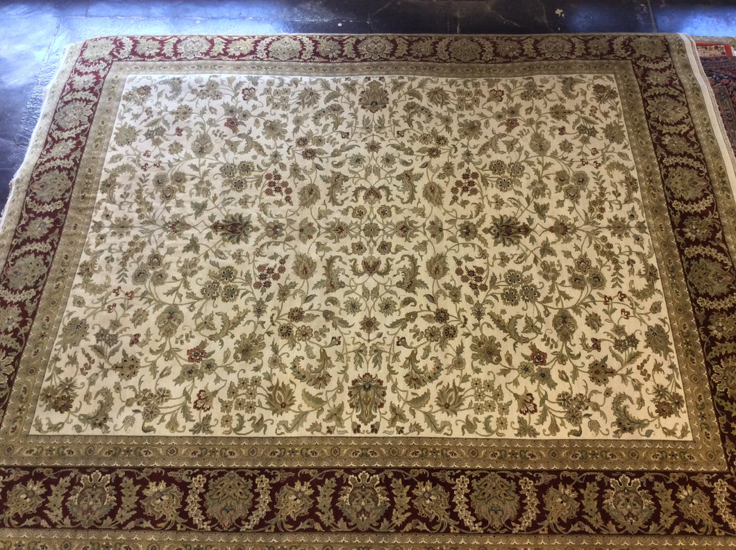 Traditional 12 x 15 Red, Ivory Rug #46125