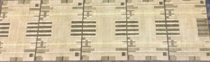 Contemporary 3 x 10 Beige Discount Rug #51203