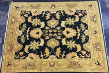Load image into Gallery viewer, Oriental 8 x 10 Black, Gold Discount Rug #24588