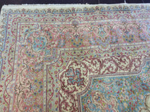 Load image into Gallery viewer, 12 x 26 Persia Kerman Ivory, Rose #13811