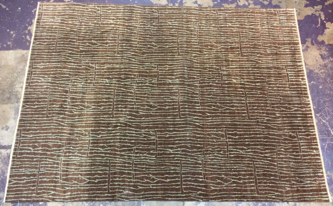 Contemporary 9 x 12 Brown Discount Rug #70540