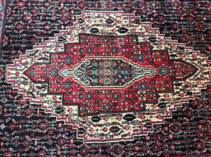4 x 5 Persia Tabriz Red #72787
