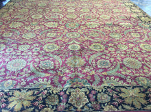 Load image into Gallery viewer, Traditional 12 x 18 Red Rug #3805