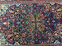 Load image into Gallery viewer, 5 x 7 Persia Kashan Blue Red #66676