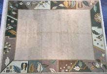 Load image into Gallery viewer, Contemporary 8 x 10 Brown Discount Rug #50715