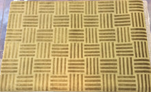 Load image into Gallery viewer, Contemporary 6 x 9 Gold Discount Rug #51452