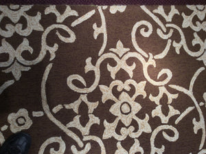 5 x 8 India Contemporary Brown #66652