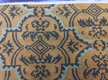 Load image into Gallery viewer, Contemporary 6 x 9 Gold Discount Rug #50643