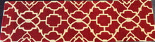 Load image into Gallery viewer, 2'6 x 9 runner India Contemporary Red #74247