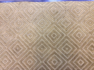 Contemporary 6 x 9 Gold Discount Rug #50640