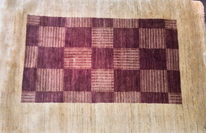 Contemporary 6 x 9 Multi-Color Rug #16055