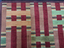Load image into Gallery viewer, Contemporary 5 x 8 Multi-Color Rug #22310