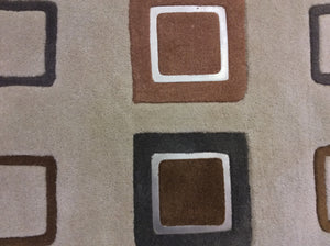 Contemporary 5 x 8 Beige Rug #51408