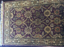 Load image into Gallery viewer, Traditional 3 x 10 Purple Rug #11394