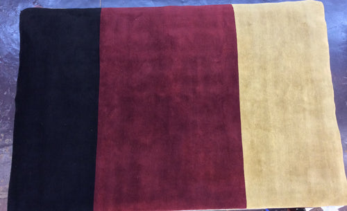 Contemporary 6 x 9 Multi-Color Rug #24525