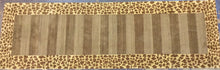 Load image into Gallery viewer, Contemporary 3 x 8 Gold Discount Rug #9410