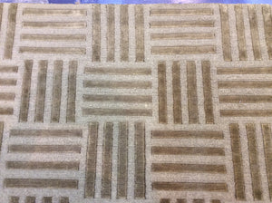 Contemporary 6 x 9 Gold Discount Rug #51452