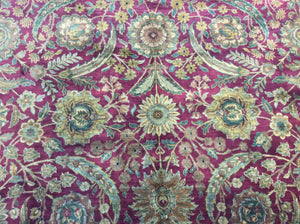Traditional 12 x 18 Red Rug #3805