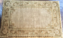 Load image into Gallery viewer, Oriental 6 x 9 Gold Rug #7432