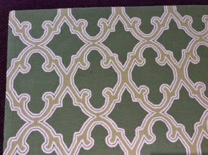 5 x 8 India Contemporary Green 5 x8 #68075