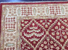 Load image into Gallery viewer, Traditional 9 x 12 Red Rug #52837
