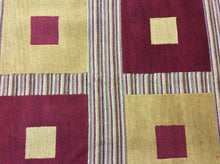 Load image into Gallery viewer, Contemporary 5 x 8 Red, Gold Rug #51396