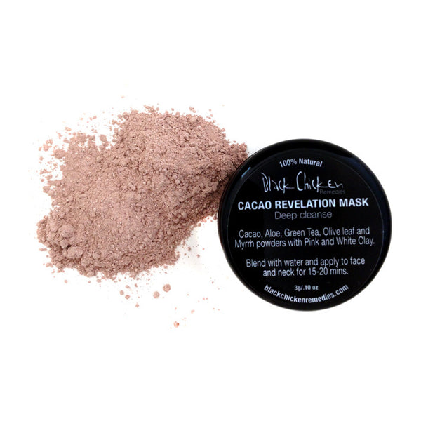 Black Chicken Remedies Cacao Revelation Mask – Deep Cleanse Pack