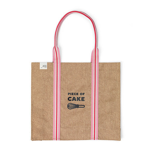 Apple & Bee Eco Tote - 'Piece Of Cake'