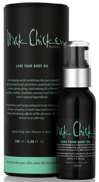 Black Chicken Love Your Body Oil