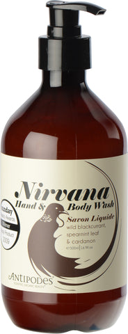 Antipodes Natural Nirvana Hand & Body Wash