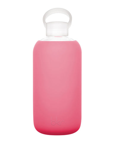 bkr Water Bottle 1L - Sugar (Warm Bright Pink)