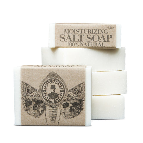 Rebels Refinery - Moisturizing Salt Soaps