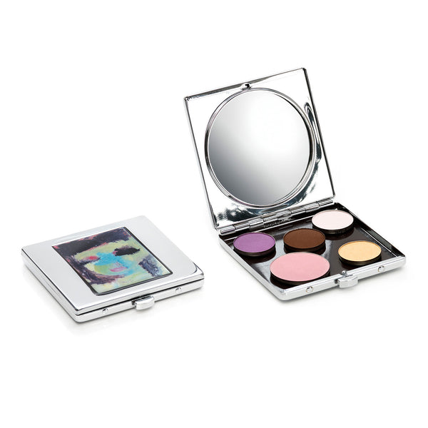 Sappho Cosmetics Stainless Steel Refillable Compact