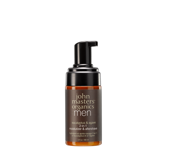 John Masters Organics  Eucalyptus & Agave 2-in-1 Moisturizer & Aftershave