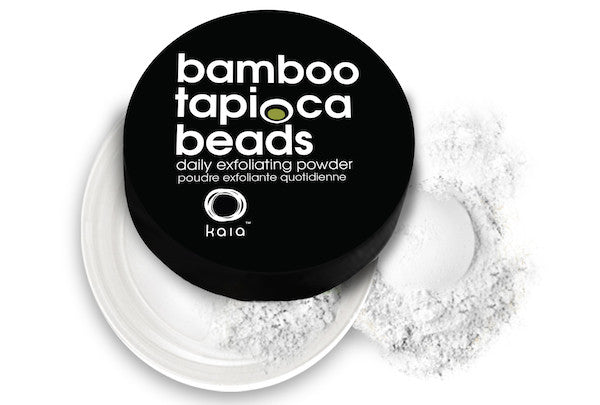 Kaia Naturals Bamboo Tapioca Beads - Daily Exfoliating Powder