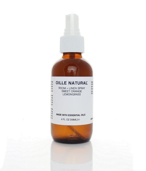 Oille Natural Room Spray Sweet Orange + Lemongrass