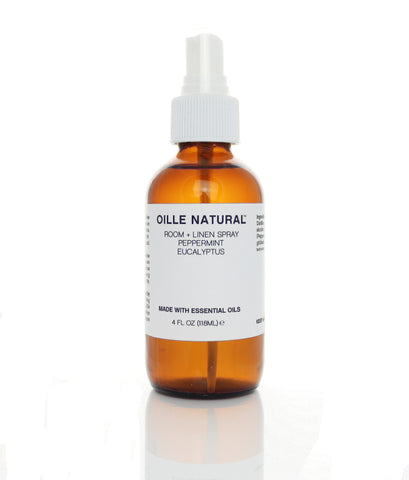 Oille Natural Room Spray Peppermint + Eucalyptus