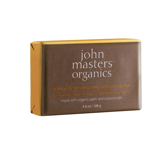 John Masters Organics Orange & Ginseng Exfoliating Body Bar