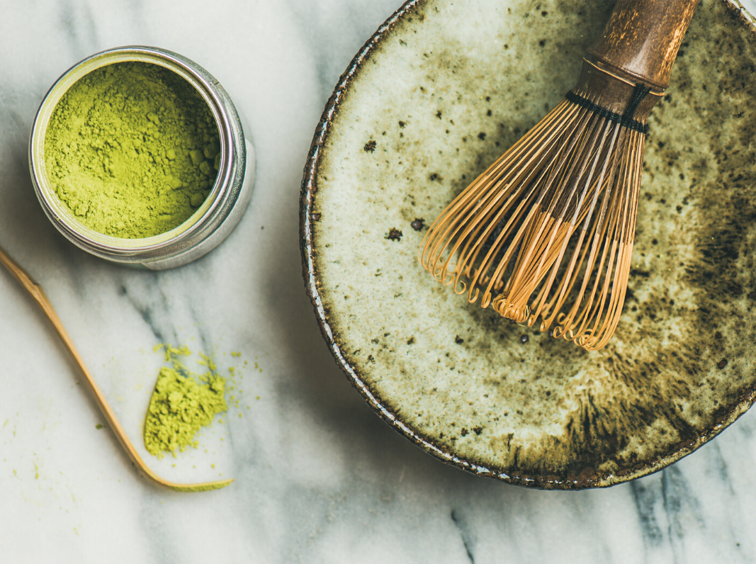 ELDERFLOWER MATCHA FACE MASK