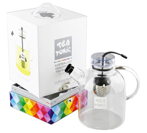 Glass Tea Pot 1.5L - 6 Cups