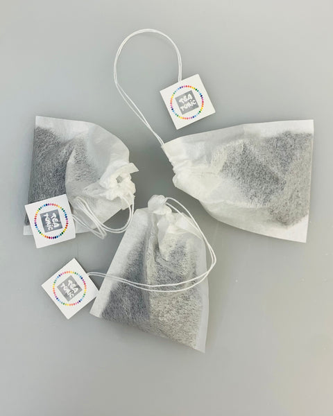Filter Paper Teabags for loose leaf tea - 100 per pack