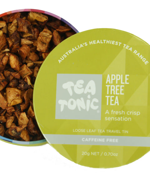 Apple Tree Tea Loose Leaf Travel Tin