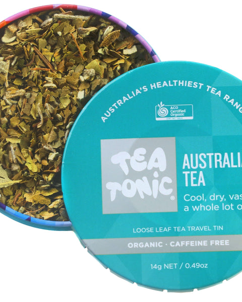 Australiana Tea Loose Leaf Travel Tin
