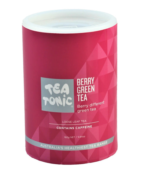 Berry Green Tea Loose Leaf Refill Tube