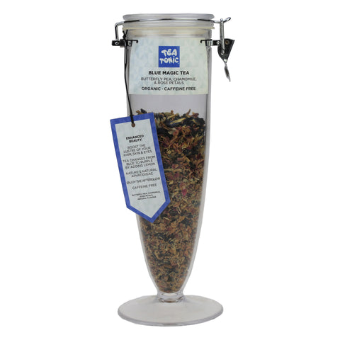 Blue Magic Tea Loose Leaf Cone Jar