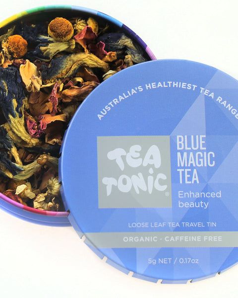 Blue Magic Tea Loose Leaf Travel Tin