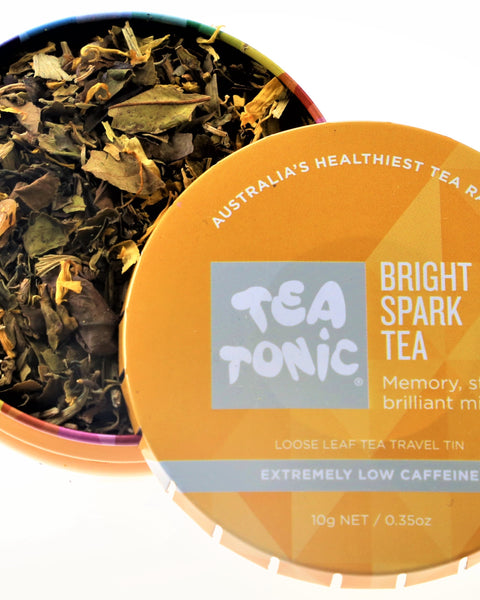 Bright Spark Tea Loose Leaf Travel Tin
