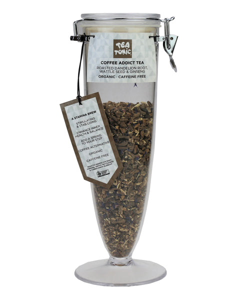 Coffee Addict Tea Loose Leaf Cone Jar