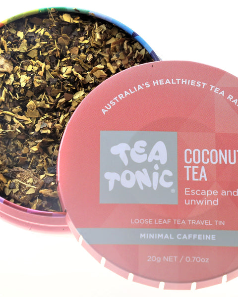 Coconut Tea Loose Leaf Travel Tin